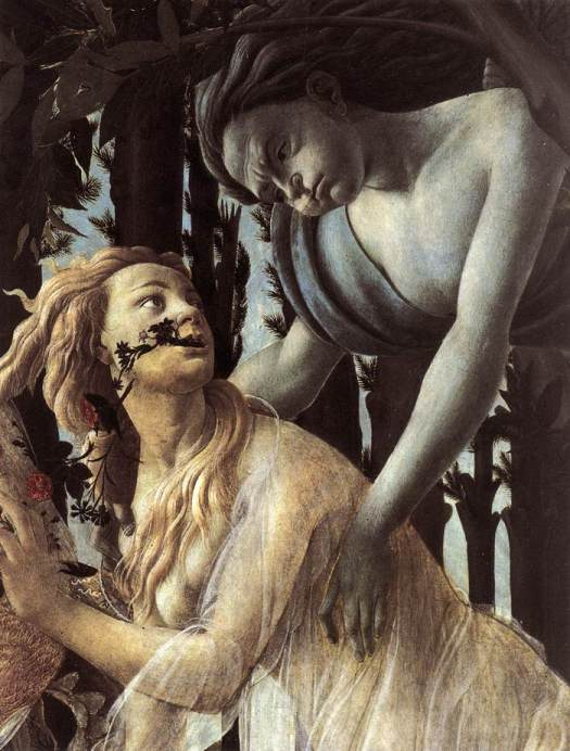 Zefir i Chloris, Primavera, Sandro Botticelli