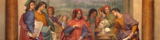 Lorenzo de Medici wsrod artystow