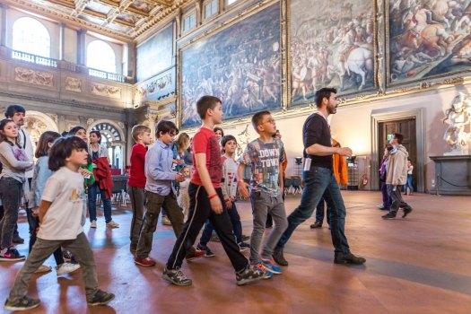 Palazzo Vecchio, wizyta dla dzieci