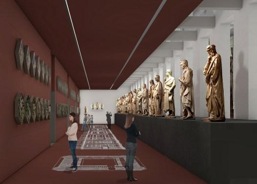 sala campanile muzeum dell'opera del duomo