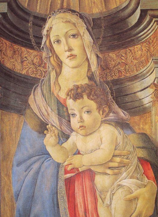 Sandro Botticelli, Madonna z granatem