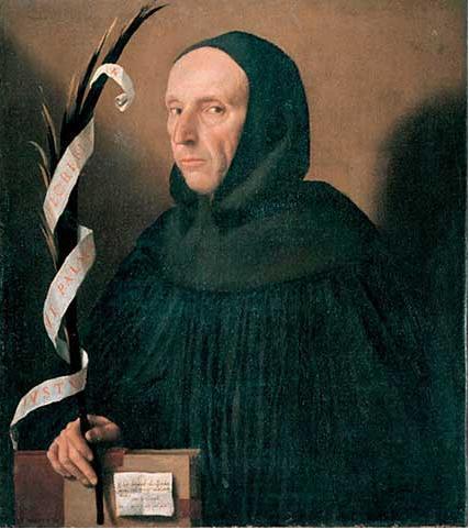 Portret Girolamo Savonarola