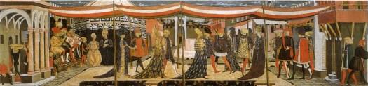 Cassone Adimari, skrzynia Adimari, Scheggia, Florencja, Akademia