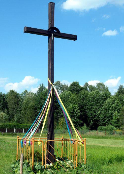 Krzyż pradziadka w Celinowie