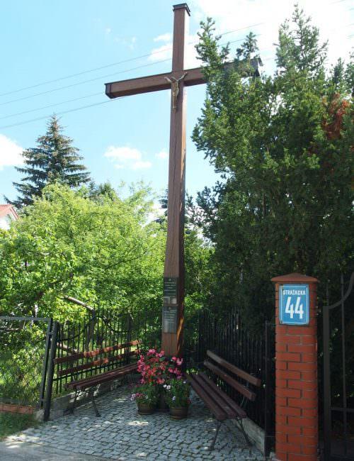 Krzyż prapradziadka w Siennicy