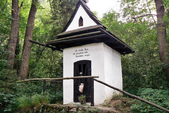 Kapliczka św. Kingi Krościenko