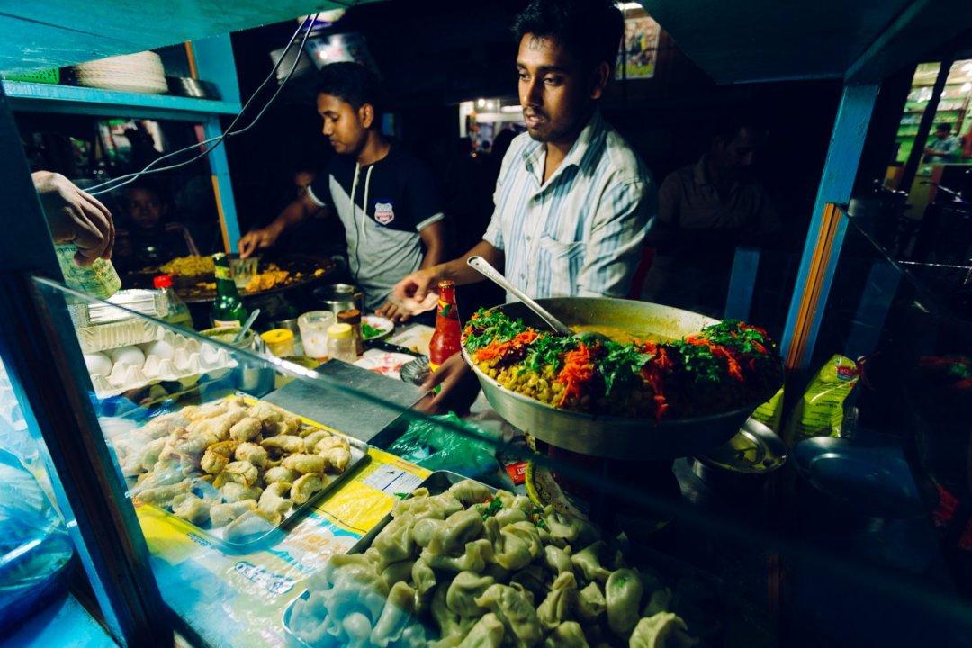 Garkuchnia wSiliguri wIndiach