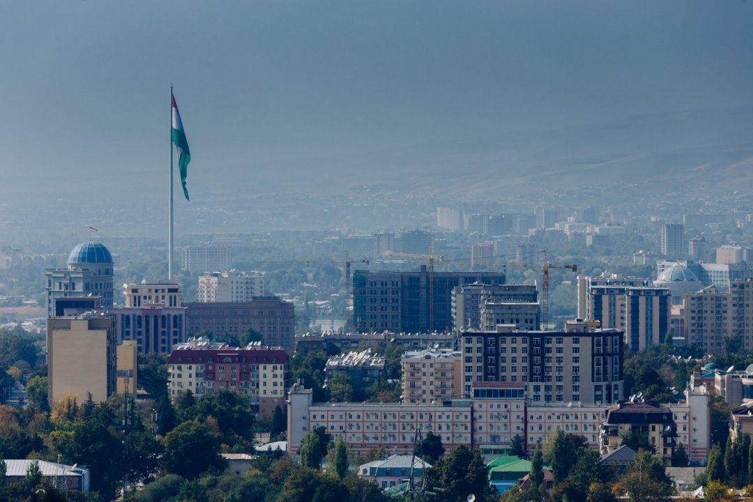 Flag Pole Dushanbe