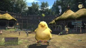 Chubby Chocobo Mount Final Fantasy XIV