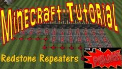 Minecraft Tutorial - Redstone Repeaters