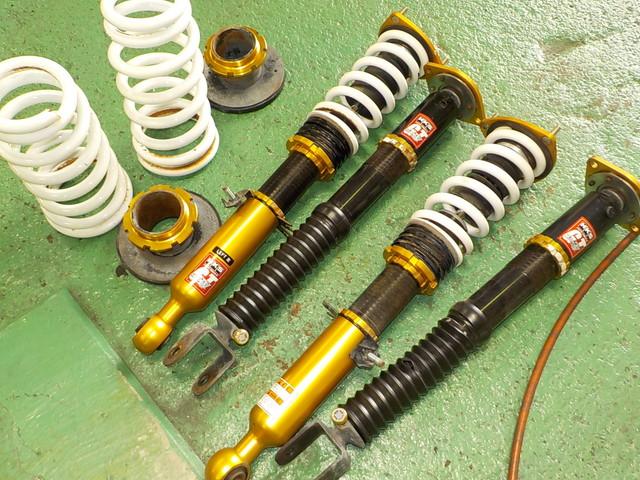 PV36 スカイライン 車高調交換 LED球交換 四輪アライメント オイル交換