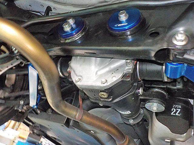 ZC6 BRZ デフマウントカラー、ブッシュカラー、パワーブレース