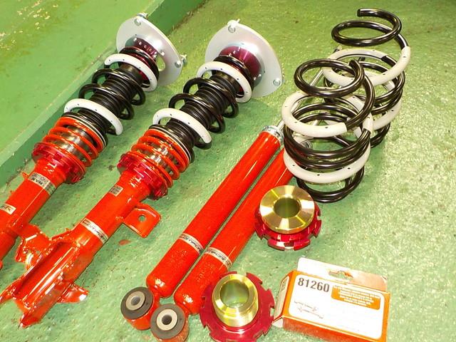 SC11 ティーダ ラティオ タナベ車高調交換と四輪アライメント