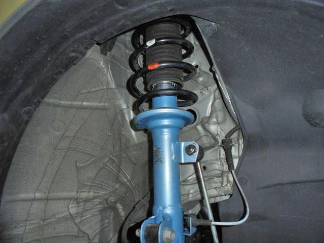 MA36S ソリオハイブリッド KYB NewSRスペシャルショックに交換 四輪アライメント調整