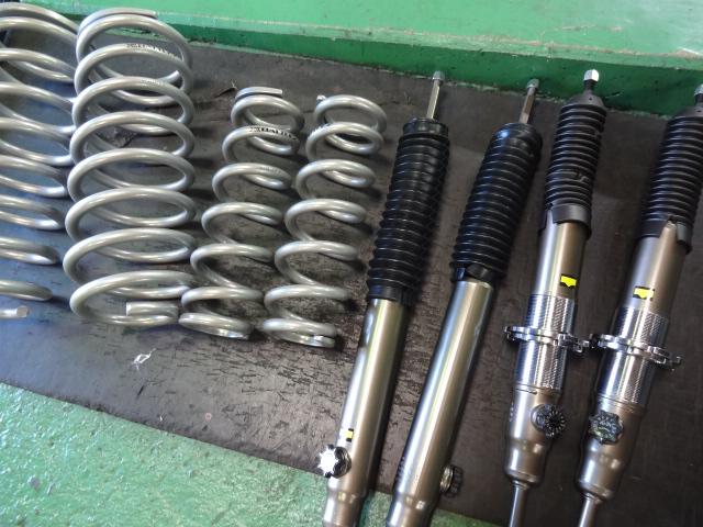 GSJ15 FJクルーザー ジャオスリフトアップキット取り付け 四輪アライメント