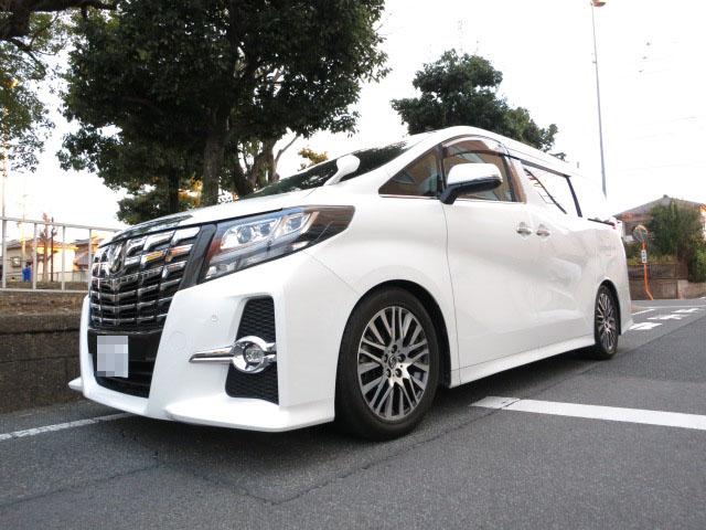 AGH30W アルファード HKS HyperMAX style L 車高調に交換 四輪アライメント