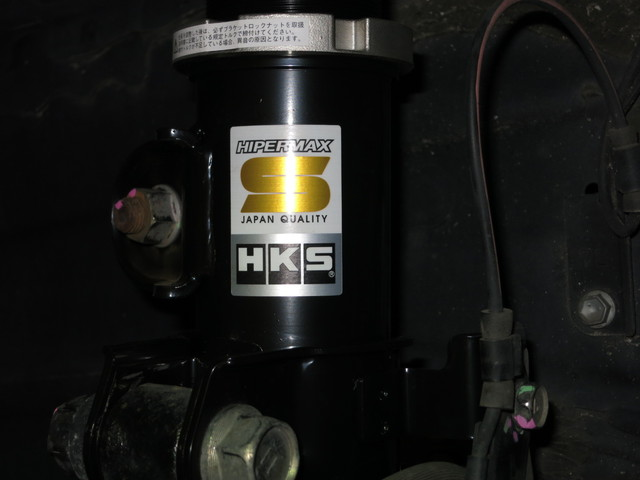 AYH30W ヴェルファイア ハイブリッド HKS HyperMAX S 車高調に交換 四輪アライメント調整