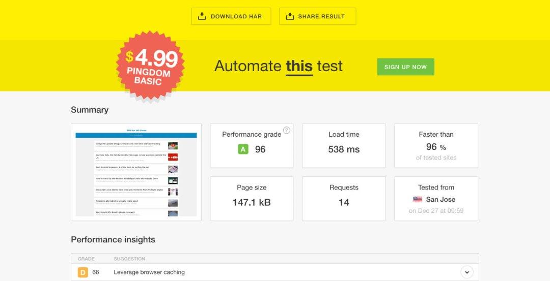 AMP for WP – Accelerated Mobile Pages Capture d'écran