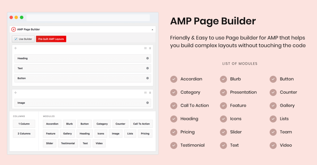 AMP for WP – Accelerated Mobile Pages Capture d'écran