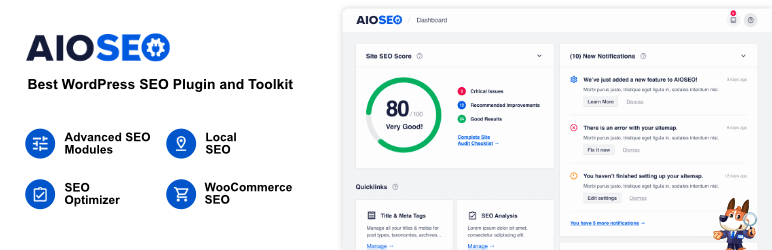 All in One SEO – Best WordPress SEO Plugin – Easily Improve Your SEO Rankings