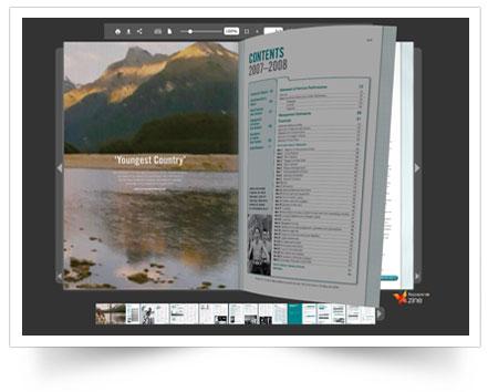 FlipPaper PDF flipbook