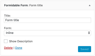 Contact Forms, Surveys & Quiz Forms Plugin by Formidable Forms Builder for WordPress Screenshot