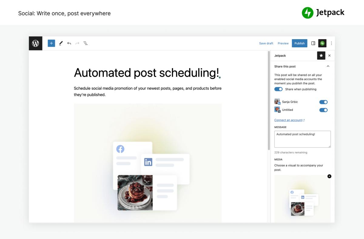 Jetpack by WordPress.com Screenshot