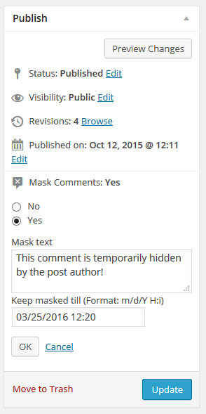 mask-comments screenshot 4