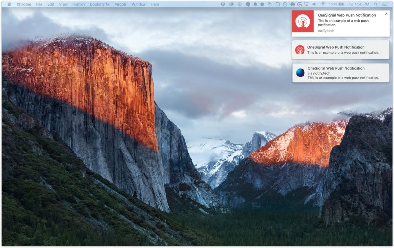 OneSignal – Web Push Notifications Screenshot