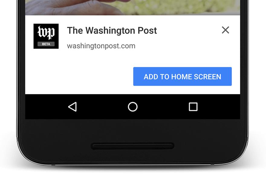 PWA for WP & AMP Capture d'écran