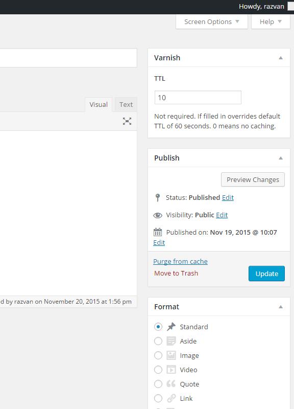 Varnish/Nginx Proxy Caching Capture d'écran