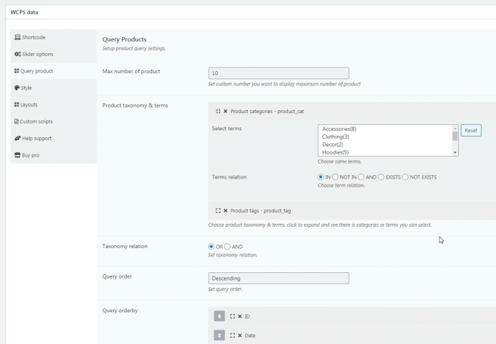 PickPlugins Product Slider for WooCommerce Capture d'écran