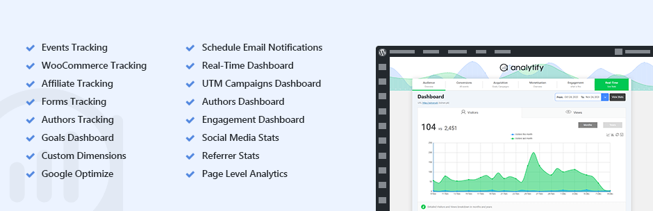 Analytify – Google Analytics Dashboard Plugin for WordPress