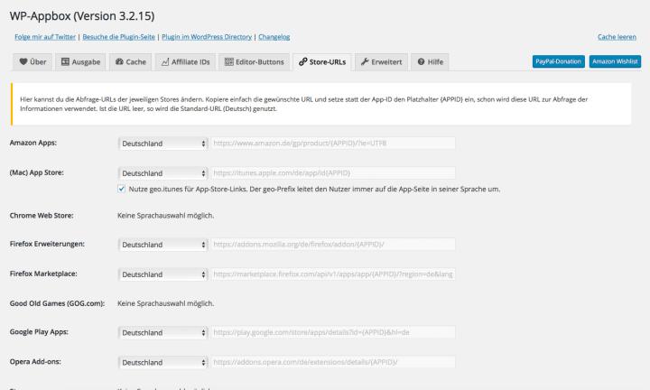 WP-Appbox Screenshot