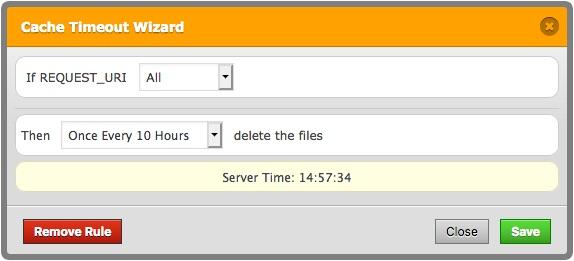 WP Fastest Cache Screenshot