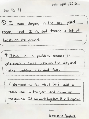 Teacher's Writing