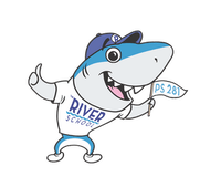 River Shark mascot