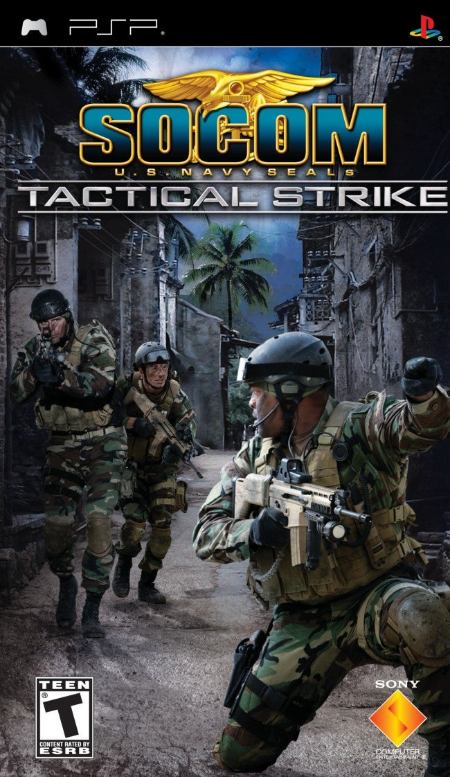 Newest SOCOM Released For PSP IGN