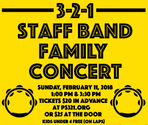 Staff Band Family Concert This Sunday!