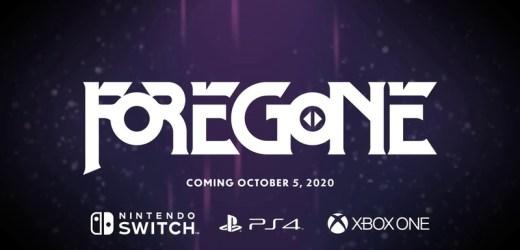 Платформер Foregone доберется до PS4, Xbox One и Switch 5 октября.
