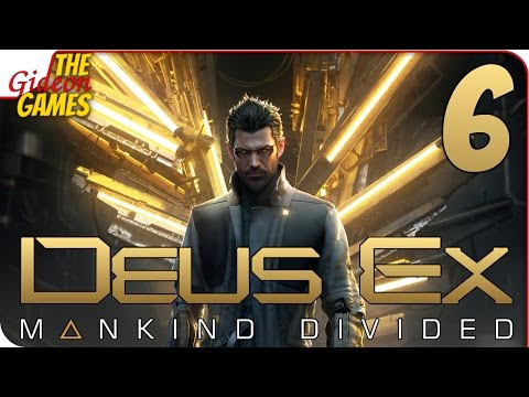 Прохождение Deus Ex: Mankind Divided 6  ХАРД РЕБУТ