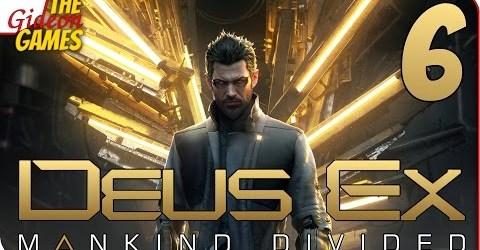 Прохождение Deus Ex: Mankind Divided 6  ХАРД РЕБУТ