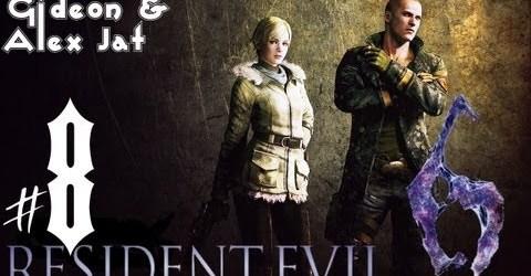 Прохождение Resident Evil 6: Джейк. Co-op: Gideon  Alex Jat — Часть 8 (Подводный комплекс)