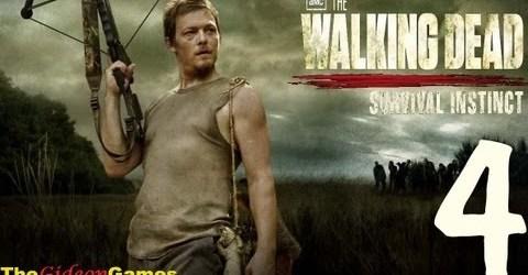 Прохождение The Walking Dead: Survival Instinct — Часть 4 (Лесопилка)
