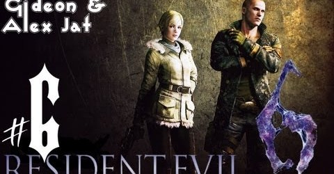 Прохождение Resident Evil 6: Джейк. Co-op: Gideon  Alex Jat — Часть 6 (Погоня!)
