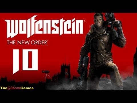 Прохождение Wolfenstein: The New Order (2014) HD — Часть 10 (Еврейский волшебный шарик)