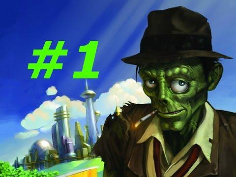 Прохождение — Stubbs the Zombie (Месть Короля) — часть #1 Майкл вернулся)