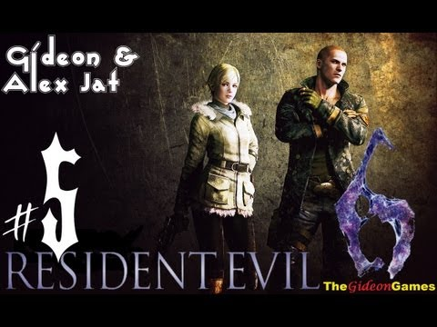 Прохождение Resident Evil 6: Джейк. Co-op: Gideon  Alex Jat — Часть 5 (Пациенты)