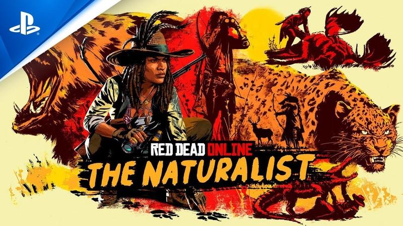 Трейлер нового обновления «Натуралист» для Red Dead Online
