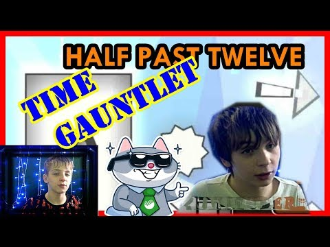 TIME GAUNTLET HALF PAST TWELVE /GEOMETRY DASH/ HARDER 7 ЗВЁЗД